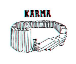karma, true, and life image