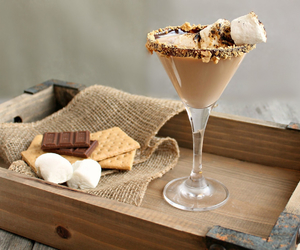 chocolate, marshmallow, and smores image