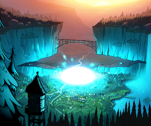 official, scenery, and gravity falls image
