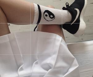 adidas, brand, and socks image