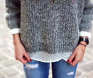 autumn, blogger, and jumper image