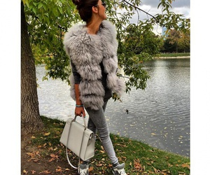 autumn, style, and fur image