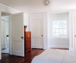 bedroom, white, and interior image