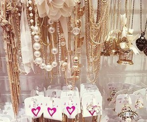 gold, accessories, and necklace image