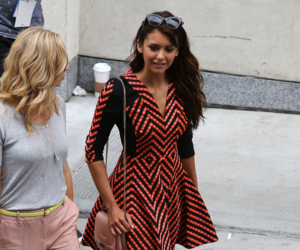 Nina Dobrev, the vampire diaries, and candice accola image