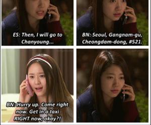 lee min ho, park shin hye, and kim woo bin image
