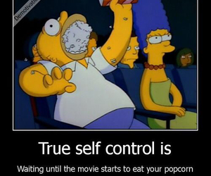 funny and self control image