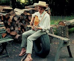 bob dylan, guitar, and inspiration image
