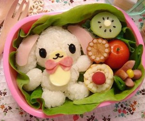 cute, food, and bento image