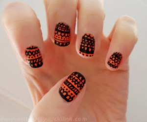 nails and aztec image