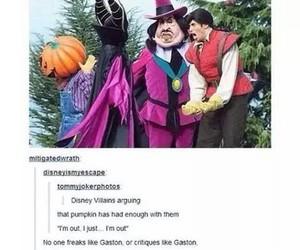 funny, disney, and gaston image