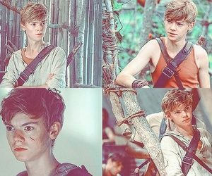 newt and maze runner image