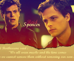 criminal minds, quotes, and spencer reid image