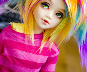 colours and doll image
