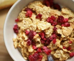food and raspberries image