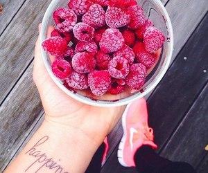 fruit, food, and nike image