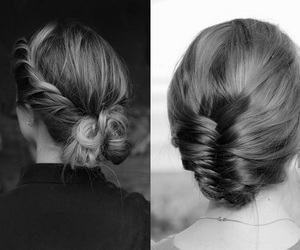 girl, hair style, and hair image
