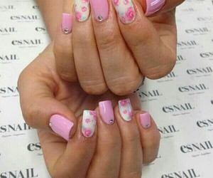 manicure, nails, and bbloggers image