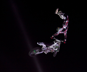 black, motocross, and fmx image