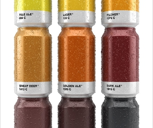 beer, pantone, and can image