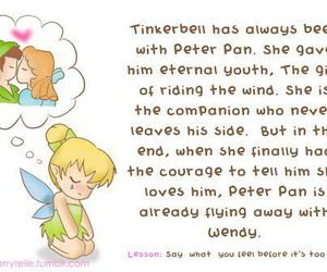 tinkerbell, love, and disney image