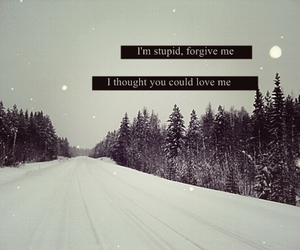 text and winter image