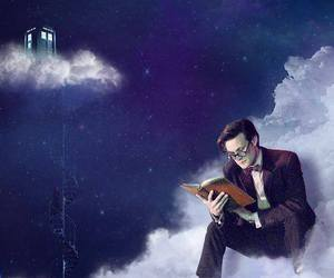doctor who, matt smith, and tardis image