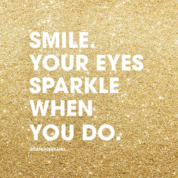 quote, smile, and sparkle in so cal contest image