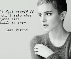 emma watson, quotes, and life image