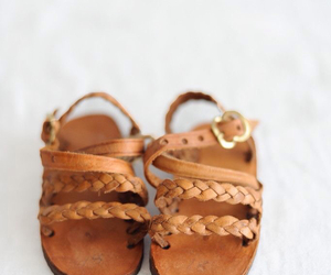 baby, shoes, and leather image