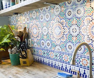 kitchen and tiles image
