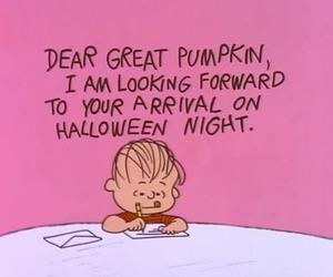 charlie brown, Halloween, and Great Pumpkin image