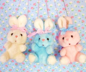 bunny, pastel, and cute image