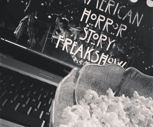 freak show, american horror story, and laptop image