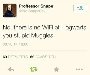harry potter, hogwarts, and muggles image