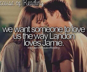 A Walk to Remember, jamie, and landon image