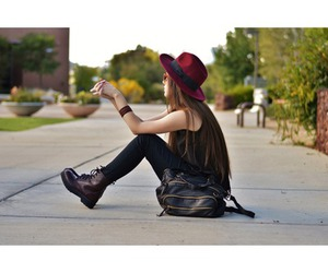autumn, beautiful, and clothes image