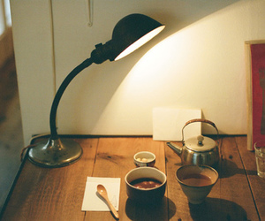 desk, indie, and light image