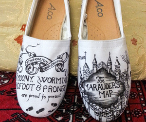 etsy, harry potter, and shoes image