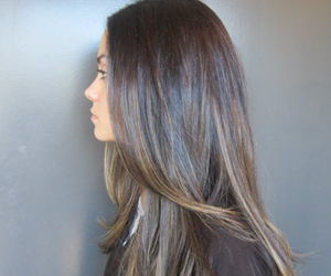 blonde, highlights, and straight image