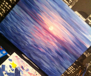 painting and sunset image