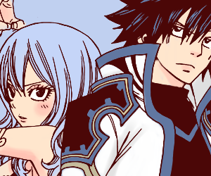 fairy tail, juvia, and gray fullbuster image