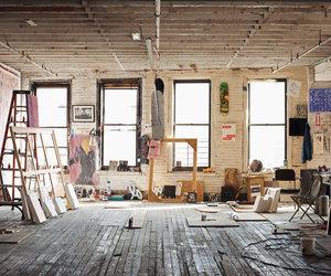 creativity, interior, and loft image