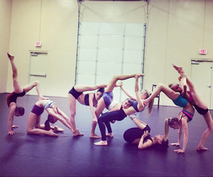 gymnastic, flexibility, and handstand image