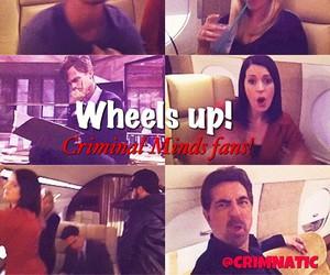 criminal minds and wheels up image
