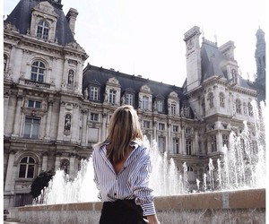 architecture, city, and fountain image