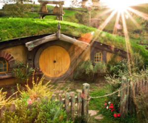 LOTR, middle earth, and hobbiton image