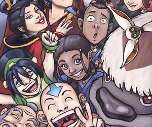 aang, selfie, and avatar image