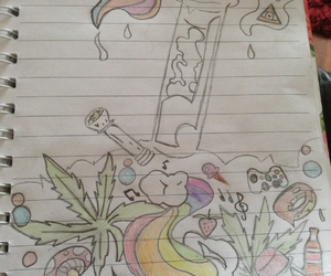 body, bong, and colours image