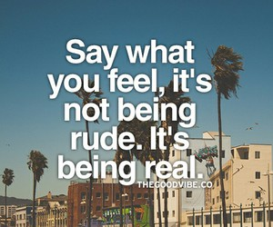feel, real, and say image